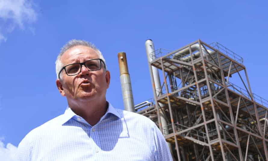 Australian prime minister Scott Morrison is being urged to commit to a more ambitious carbon emissions reduction target.