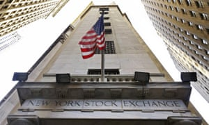 The Wall Street entrance to the New York Stock Exchange.