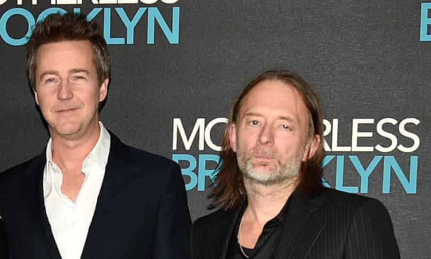 Edward Norton and Thom Yorke.