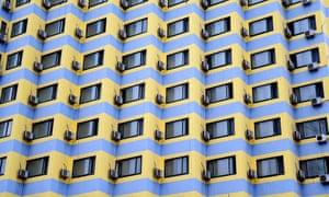 Air conditioning units in Shenyang, China.