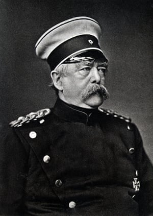 The EU, meant to surround Germany with friends, would have been Bismarck's dream.