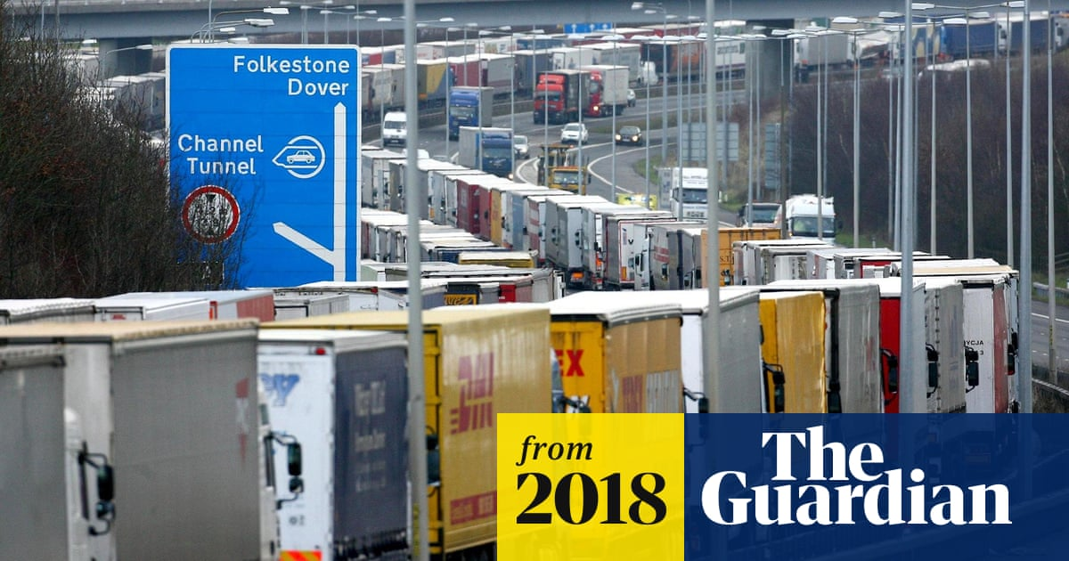 Record number of lorries using Dover port raises fears of Brexit