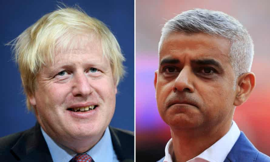 Boris Johnson has hit back at Sadiq Khan's comments about the Garden Bridge wasting taxpayers' money.