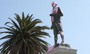 The Captain Cook statue