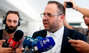 Andreas Pittadjis, the British teenager's lawyer