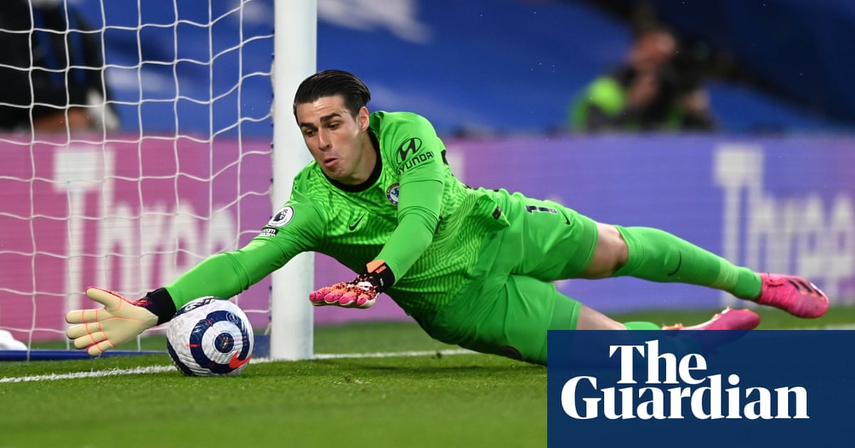 Kepa Arrizabalaga, Chelsea's £71m back-up, hoping for FA Cup final redemption