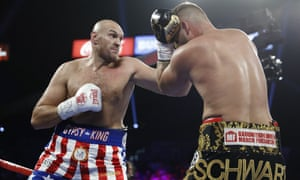 Tyson Fury Blows Out Tom Schwarz By Second Round Tko As It