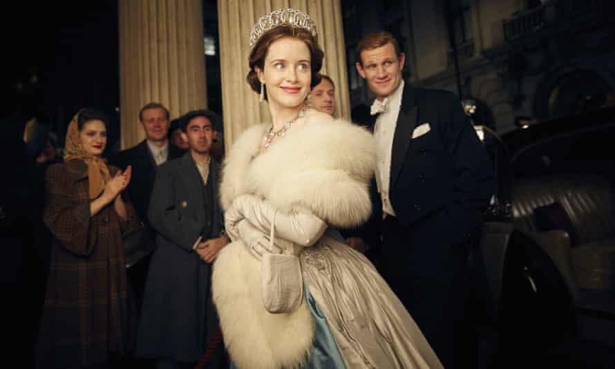 Claire Foy as Queen Elizabeth II in The Crown.