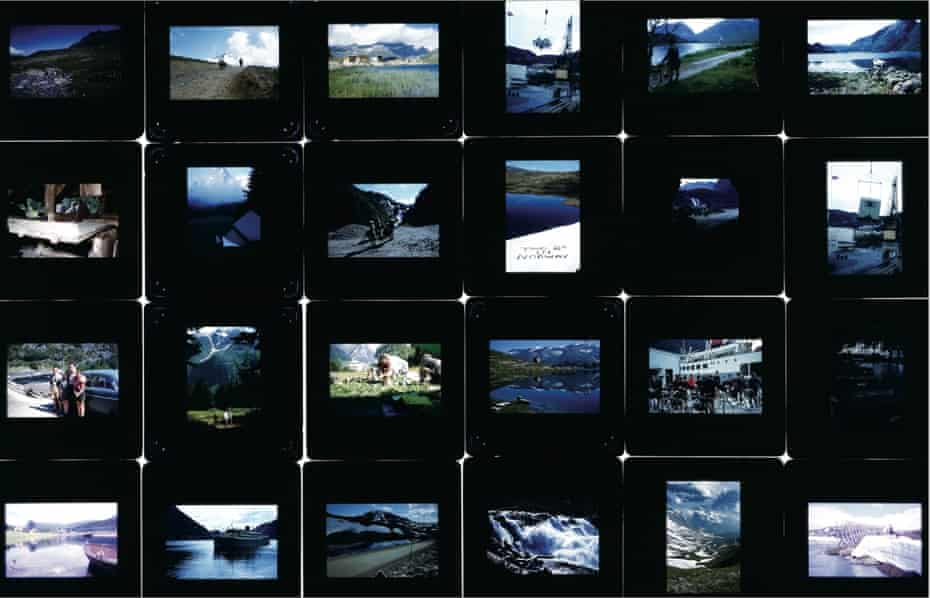 A selection of snapshots taking during a ride in Norway in March 1973