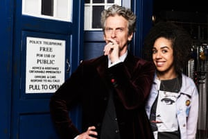'Bill is funny, geeky and vulnerable' … Mackie as Doctor Who's new companion, Bill.