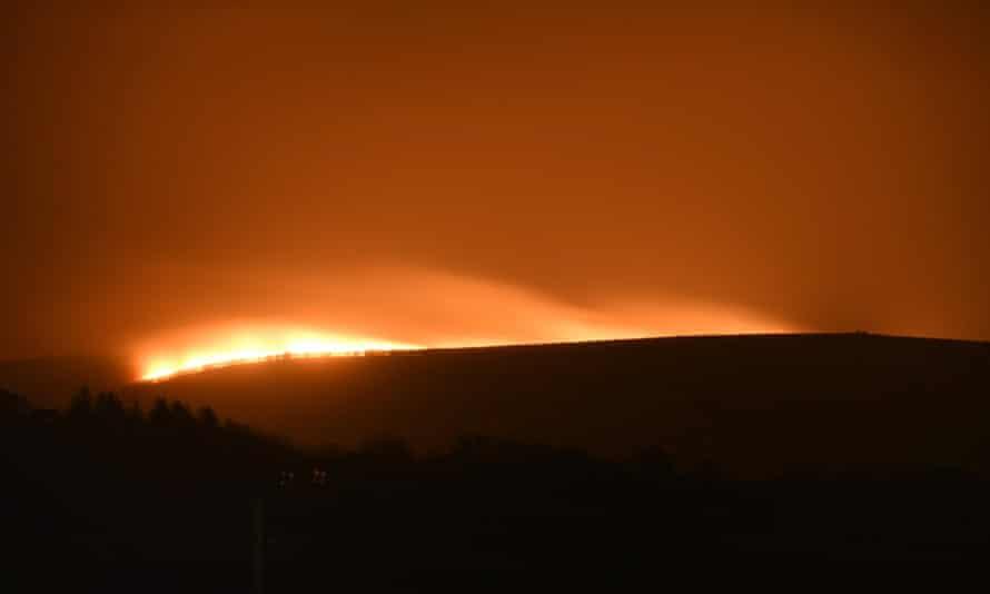 Dartmoor fire