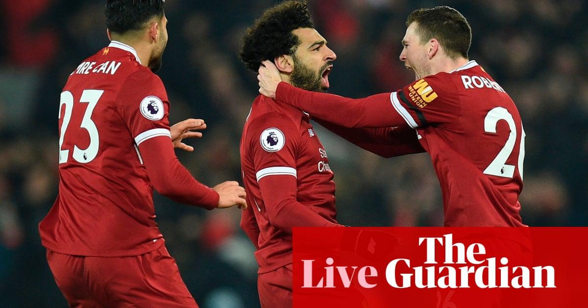 3d7ed3ff3 Liverpool 4-3 Manchester City  Premier League – as it happened ...