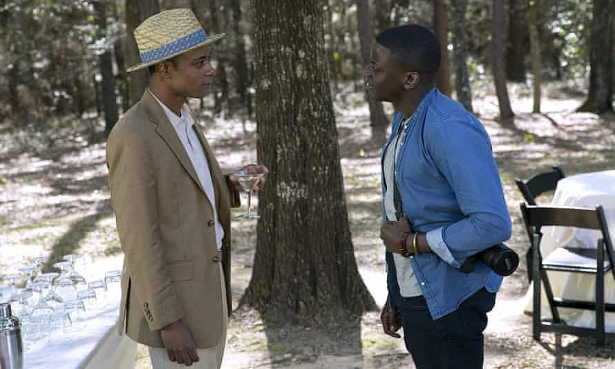 Lakeith Stanfield in Get Out with Daniel Kaluuya, with whom he stars in Judas and the Black Messiah.