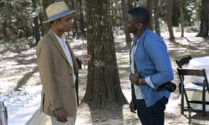 Stanfield with Daniel Kaluuya in Get Out.