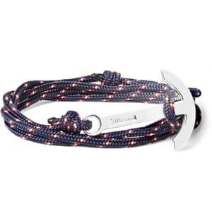 Rope bracelet £60, Miansai at mrporter.com