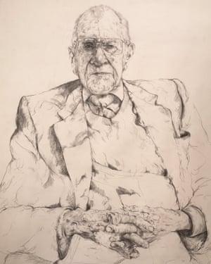 William Frankland, drawn by Gideon Summerfield
