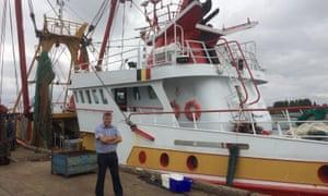 Emiel Brouckaert, chief executive of Rederscentrale, the Belgian fishing industry organisation.