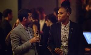 Aziz Ansari and Lena Waithe in the Netflix original series Master of None.