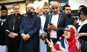 Religious leaders hold a vigil for victims of the Manchester Arena terrorist attack.