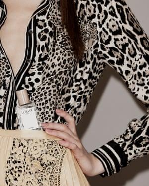 001 Woman, £81.50, by LoeweShirt by Roberto Cavalli. Skirt by Stella McCartney