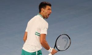 Djokovic sees off Milos Raonic