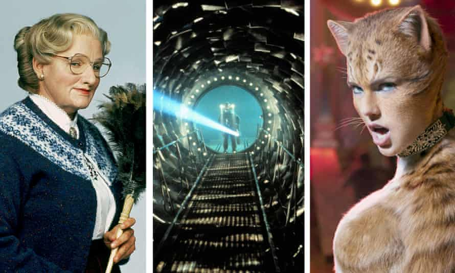 The first cut is the deepest ... Mrs Doubtfire, Event Horizon and Cats.