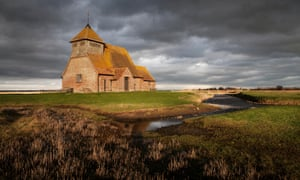 St Thomas à Becket Church on Romney Marsh in Kent has starred in screen versions of Dickens' Great Expectations.