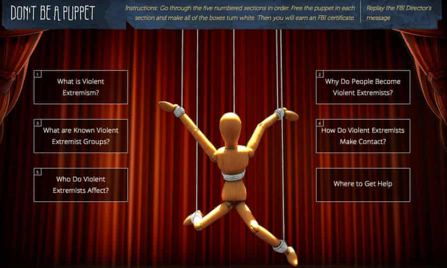 fbi dont be a puppet terrorism game