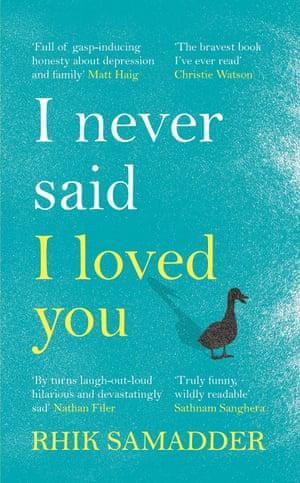 I Never Said I Loved You by Rhik Samadder