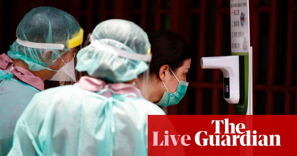 Coronavirus live news: Taiwan raises its Covid-19 alert level