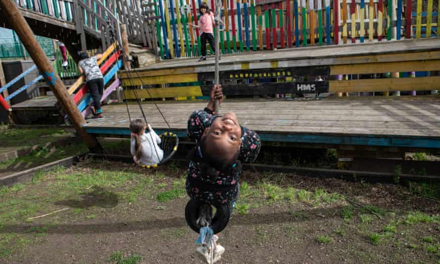 Lollard Street adventure playground in south London