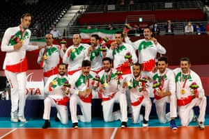Gold for Team Iran!