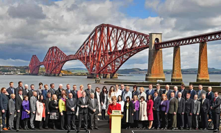 The SNP won 56 out of 59 seats in Scotland the general election.