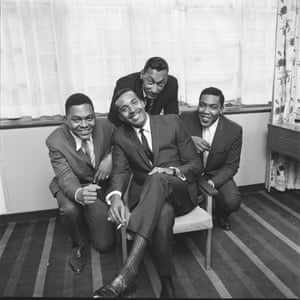 The Four Tops at the Mount Royal Hotel, London, 1965