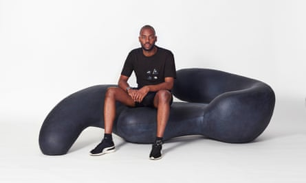 Rich-Mnisi made a name for himself in fashion, with fans including Beyonce and Naomi Campbell. This is his first foray into furniture.