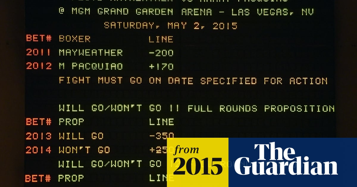 Mayweather pacquiao betting line do computers only understand binary options