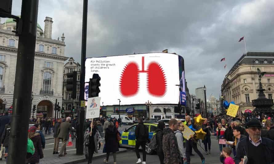 Air pollution ad