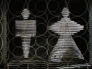 Bauhaustänze, Reifenvorhang / Danses du Bauhaus, rideau des cercles, 1927/1961