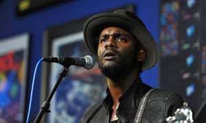 Gary Clark Jr performs onstage