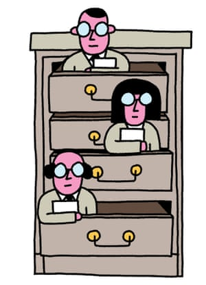 Kitchen cabinet ... the ones the PM can trust. Illustration: Leon Edler