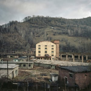 Petroșani, the Jiu Valley coal mining area, 2014. These towns, which thrived under communism, have been dramatically impacted by the country's transition to capitalism