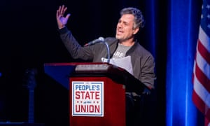 Mark Ruffalo speaks onstage during the People's State Of The Union.