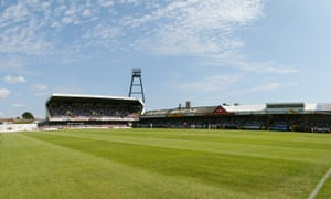 Swansea's old home at Vetch Field, where they were playing when the current owners bought the club for a price of £1m.