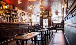 Interior of the Bow Bar, Edinburgh