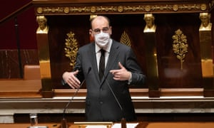 Jean Castex addressing the National Assembly