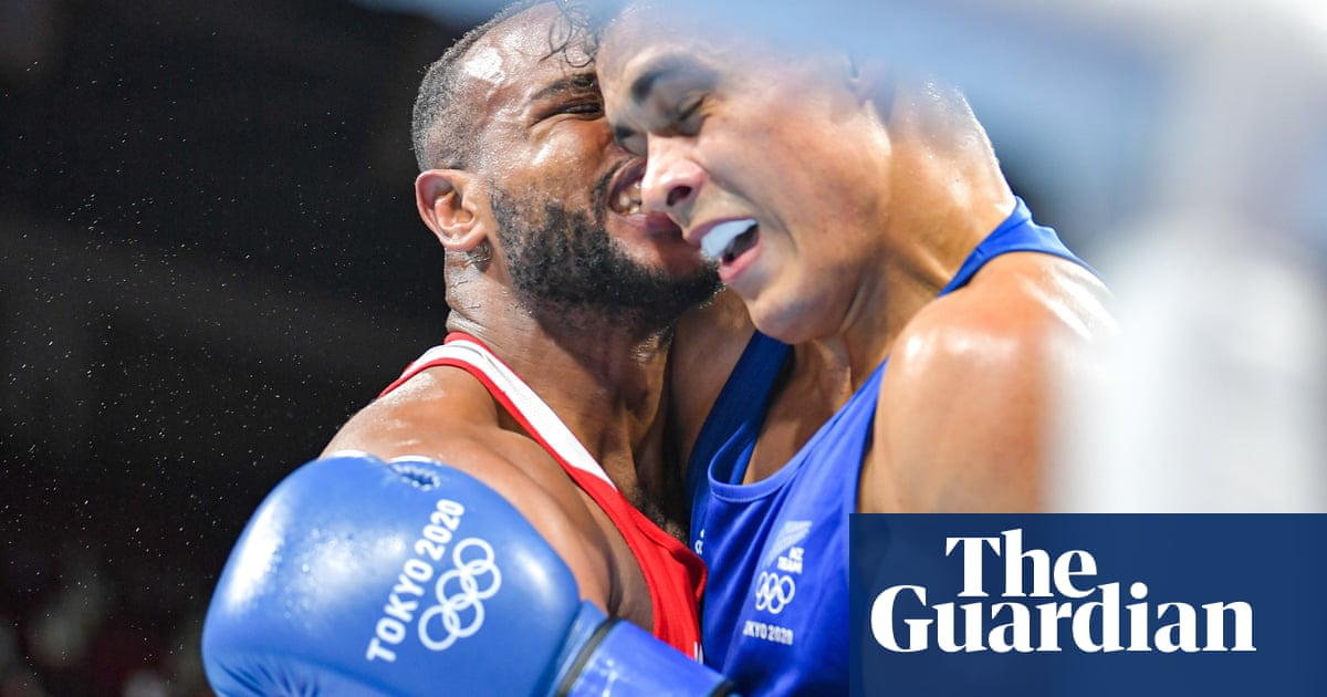 Mike Tyson moment: Moroccan boxer tries to bite opponent's ear at Olympics
