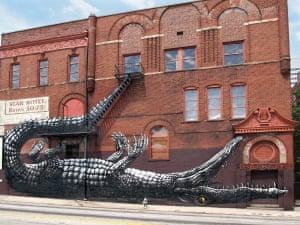 ROA, Alligator, Atlanta, GA, USA, 2011