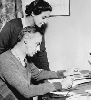 Eugene O'Neill and his wife Carlotta Monterey.