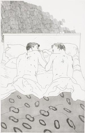 David Hockney's Two Boys Aged 23 or 24.