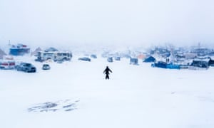 Only a few hundred water protectors have remained at the Standing Rock camp throughout the harsh winter.